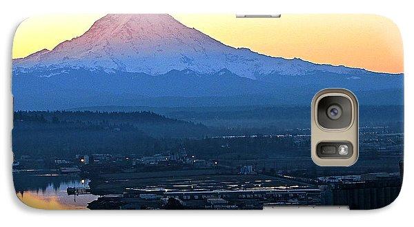 Galaxy Case featuring the photograph Rainier 7 by Sean Griffin