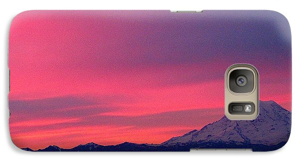 Galaxy Case featuring the photograph Rainier 9 by Sean Griffin