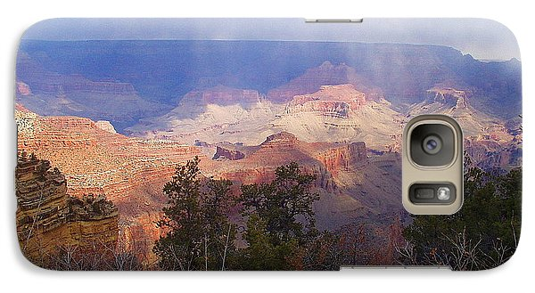 Galaxy Case featuring the photograph Raining In The Canyon by Marna Edwards Flavell
