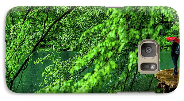 Raining Serenity - Plitvice Lakes National Park, Croatia Galaxy S7 Case