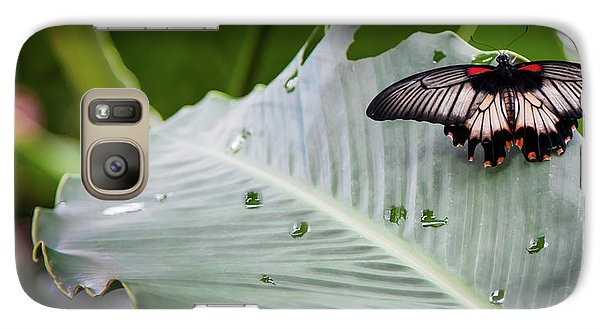 Galaxy Case featuring the photograph Raining Wings by Karen Wiles