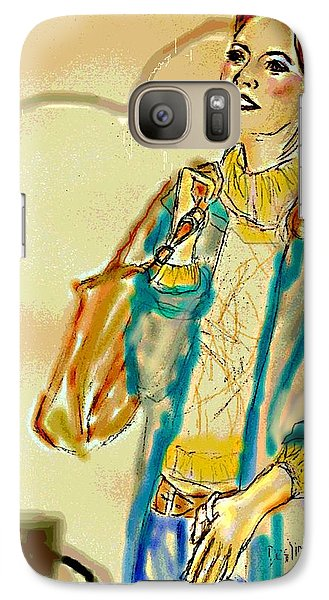 Galaxy Case featuring the digital art Rainny Days And Mondays by Desline Vitto