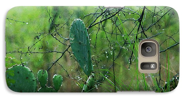 Galaxy Case featuring the photograph Rainy Day In Central Texas by Travis Burgess