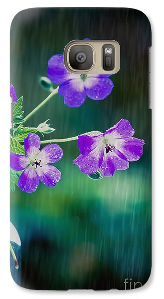 Galaxy Case featuring the photograph Rainy Days And Mondays by Jan Bickerton