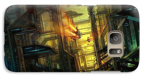 Raison Detre Galaxy Case by Philip Straub