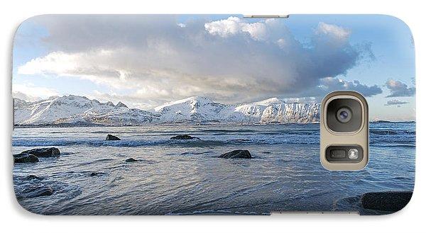 Ramberg Beach, Lofoten Nordland Galaxy S7 Case