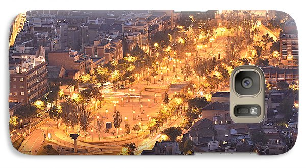 Galaxy Case featuring the photograph Rambla Del Carmel Barcelona by Marek Stepan