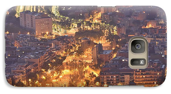 Galaxy Case featuring the photograph Rambla Del Carmel Barcelona Spain by Marek Stepan