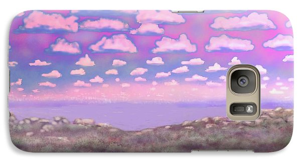 Galaxy Case featuring the digital art Randolph Scott by Kerry Beverly