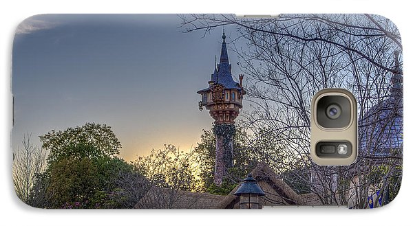 Rapunzel's Tower At Sunset Galaxy S7 Case