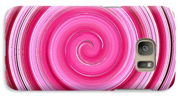 Galaxy Case featuring the digital art Rasberry Ripple  by Fine Art By Andrew David