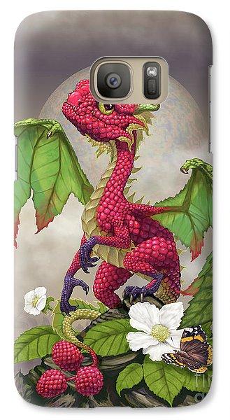 Raspberry Galaxy S7 Case - Raspberry Dragon by Stanley Morrison