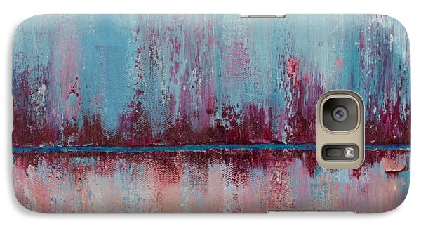 Galaxy Case featuring the painting Raspberry Parfait by Suzzanna Frank