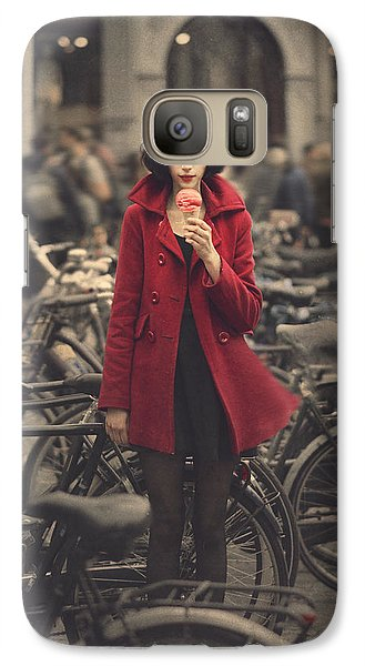 raspberry sorbet in Amsterdam Galaxy S7 Case