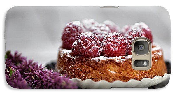 Raspberry Galaxy S7 Case - Raspberry Tarte by Nailia Schwarz