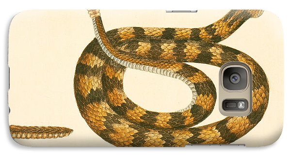 Rattlesnake Galaxy S7 Case by Mark Catesby