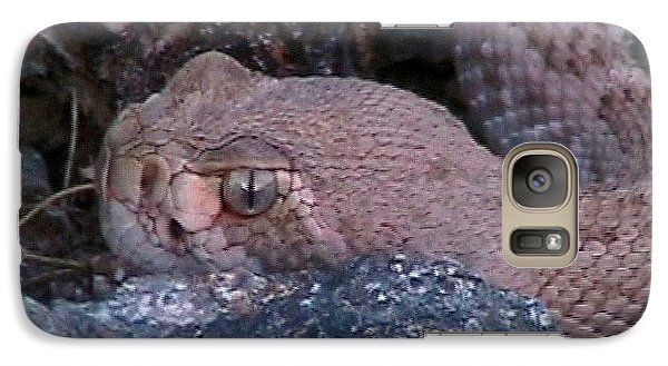 Rattlesnake Portrait Galaxy S7 Case