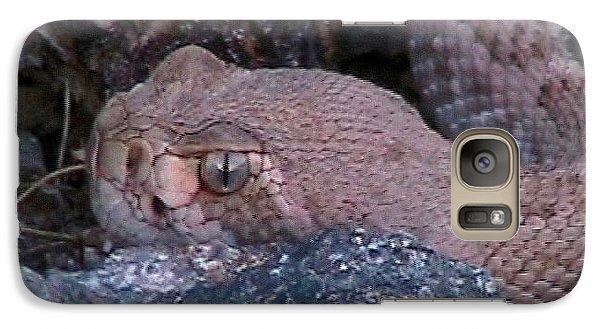 Rattlesnake Portrait Galaxy S7 Case