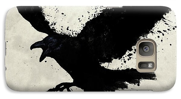 Animals Galaxy S7 Case - Raven by Nicklas Gustafsson