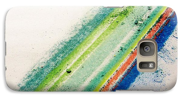 Galaxy Case featuring the pastel Raw by Kristine Nora