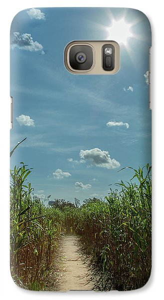 Galaxy Case featuring the photograph Rays Of Hope by Karen Wiles