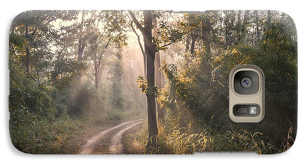 Rays Through Jungle Galaxy S7 Case by Hitendra SINKAR