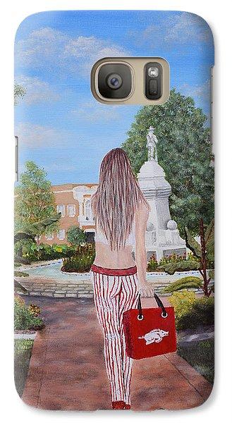 Razorback Swagger At Bentonville Square Galaxy S7 Case