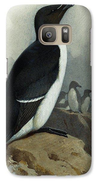 Razorbill Galaxy S7 Case by Archibald Thorburn