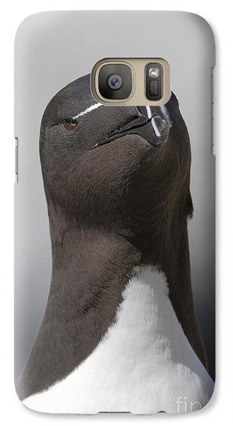 Razorbill Galaxy S7 Case by Karen Van Der Zijden
