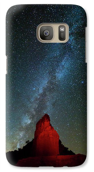 Galaxy Case featuring the photograph Reach For The Stars by Stephen Stookey