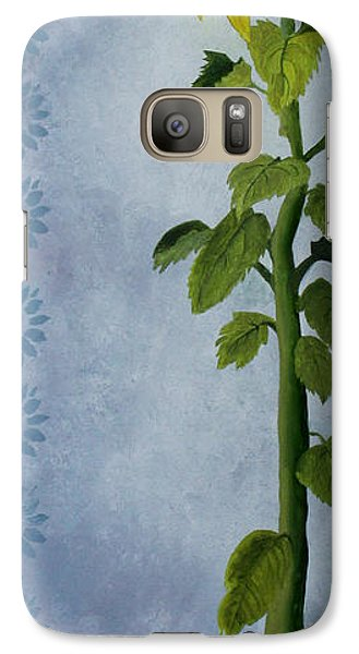 Galaxy Case featuring the painting Reaching For The Light by Jane Autry