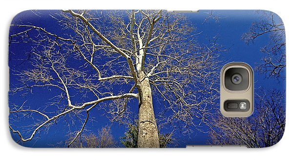 Galaxy Case featuring the photograph Reaching For The Sky by Suzanne Stout