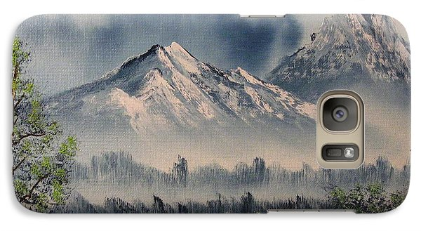 Galaxy Case featuring the painting Reaching Higher 2 by Brian Johnson