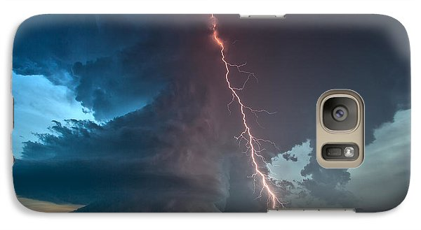 Galaxy Case featuring the photograph Reaching by James Menzies
