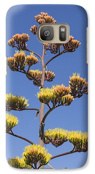 Galaxy Case featuring the photograph Reaching To The Sky by Laura Pratt