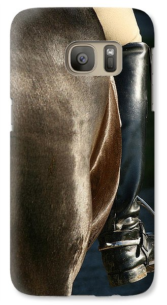 Galaxy Case featuring the photograph Ready by Angela Rath