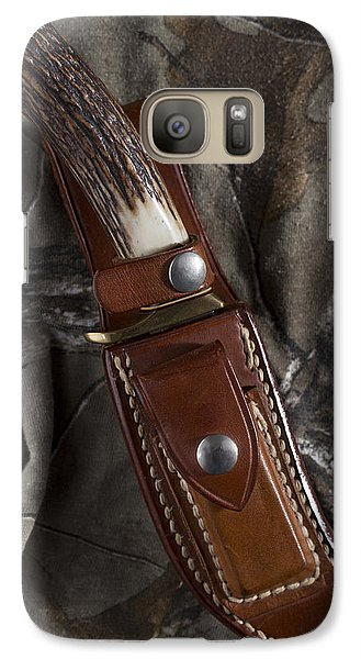 Galaxy Case featuring the photograph Ready For Anything by Andrew Pacheco