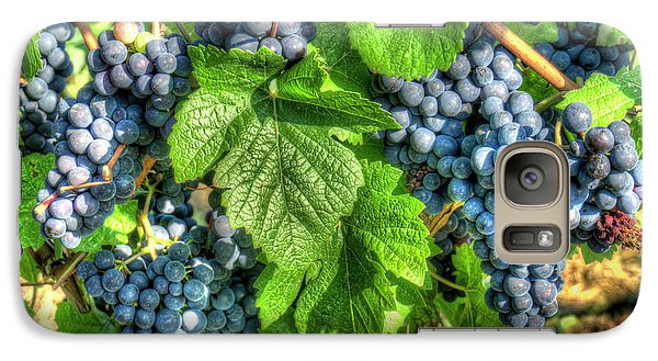 Galaxy Case featuring the photograph Ready For Harvest by Alan Toepfer