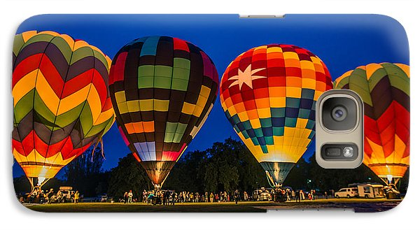 Galaxy Case featuring the photograph Ready For Liftoff by Kim Wilson