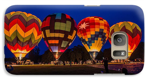 Galaxy Case featuring the photograph Ready For Take Off by Kim Wilson