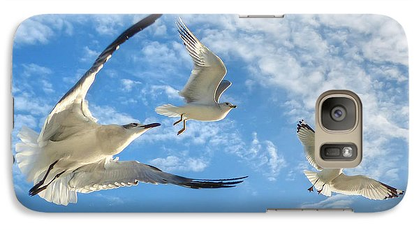 Galaxy Case featuring the photograph Ready To Soar by Geraldine Alexander