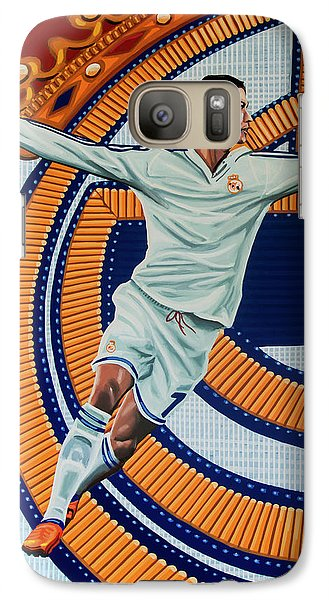 Real Madrid Painting Galaxy S7 Case
