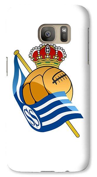 Real Sociedad De Futbol Sad Galaxy S7 Case by David Linhart