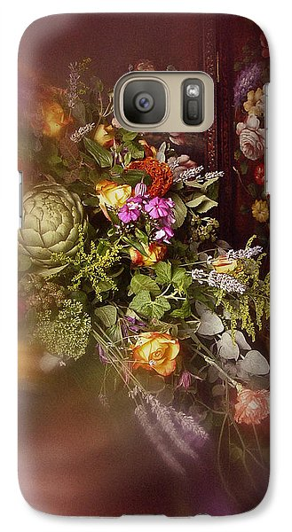 Galaxy Case featuring the photograph Floral Arrangement No. 1 by Richard Cummings