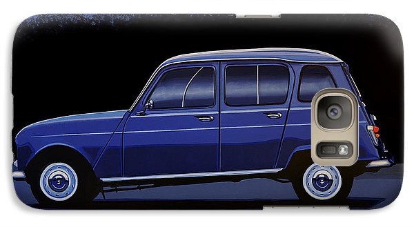 Truck Galaxy S7 Case - Renault 4 1961 Painting by Paul Meijering
