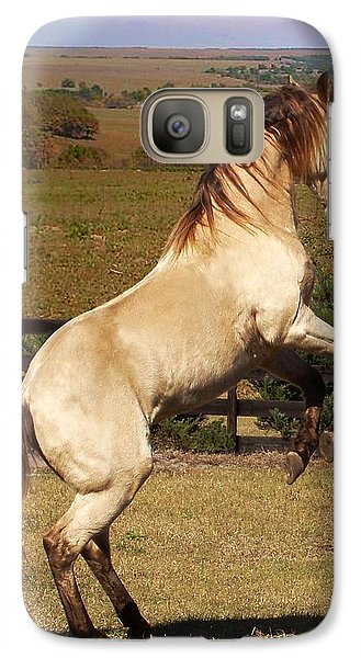 Galaxy Case featuring the photograph Wild At Heart by Barbie Batson
