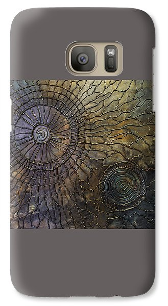 Galaxy Case featuring the painting Rebirth by Patricia Lintner