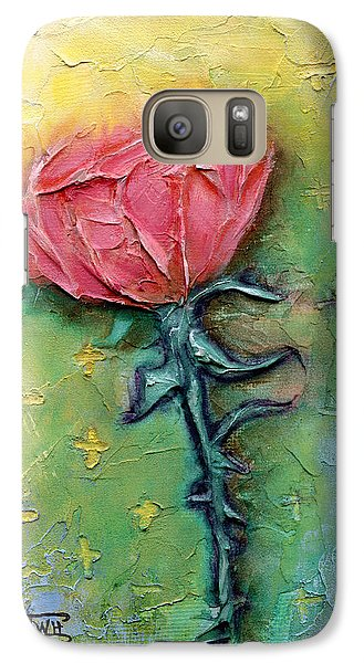 Galaxy Case featuring the mixed media Reborn by Terry Webb Harshman