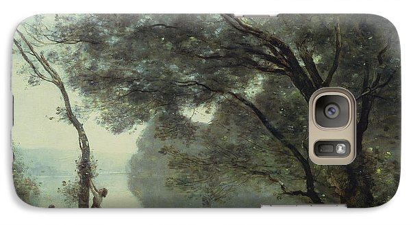 Louvre Galaxy S7 Case - Recollections Of Mortefontaine by Jean Baptiste Corot