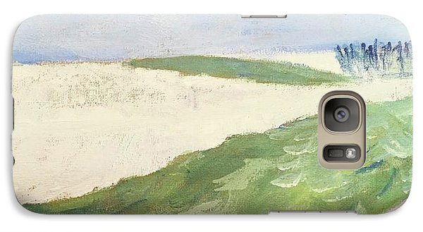 Galaxy Case featuring the painting Recompense by Angela Annas